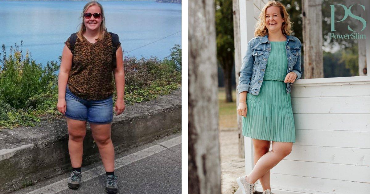 ''Ik begon met een wens om 10kg af te vallen. Inmiddels zijn dat er 20kg...''